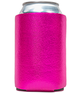 Blank Foam Collapsible Metallic Koozies