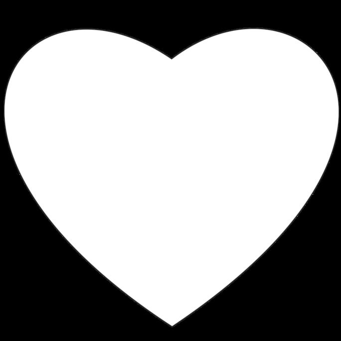 Heart Shape Hand Fans