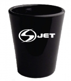 Black Shot Glass- 1.5 oz.