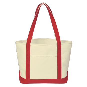 Heavy Cotton Canvas Boat Tote Bag