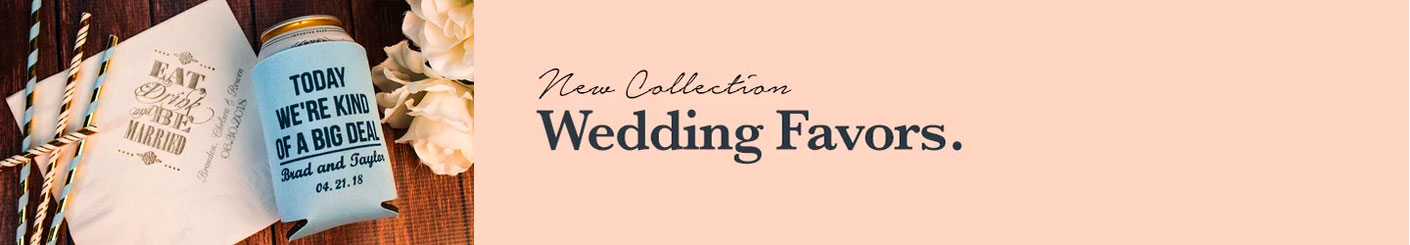 Customizable Wedding & Party Themed Promotional Items