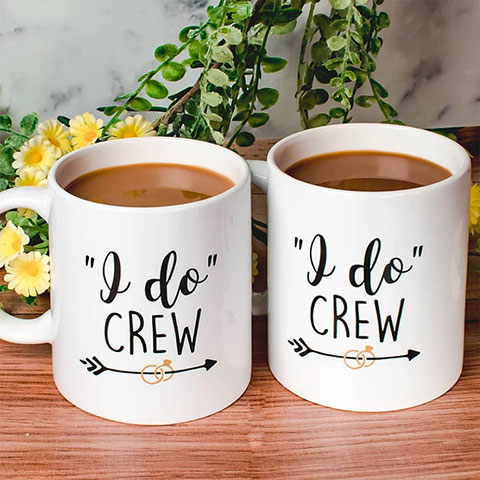 Custom Wedding Mugs - Wedding Favors - Custom Wedding Party Favor